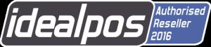 Idealpos Authorised Reseller Badge